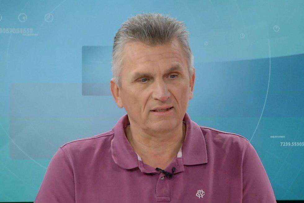 Politikos apžvalgininkas Virgis Valentinavičius (nuotr. stopkadras)