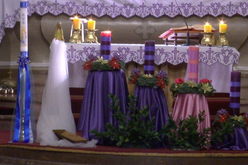 Žvakės (nuotr. stop kadras)