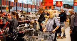 Prekybininkai įvertino karantino efektą: žmonės jau yra pasiruošę