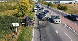 Pavojingiausios vietos Lietuvos keliuose: pamatykite, kurių kelių geriau vengti