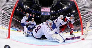 Latviai nebenori rengti čempionato su Baltarusija (nuotr. SCANPIX)