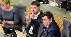 Plenarinis Seimo posėdis (nuotr. Eimanto Genio)