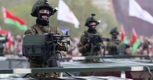 Rusija tolesnėms pratyboms į Baltarusiją atsiųs dar apie 1 tūkst. karių (nuotr. SCANPIX)