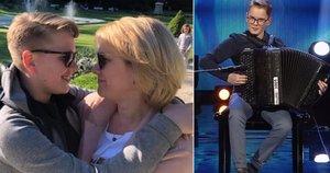 Jonas Vozbutas su mama Rasa (tv3.lt fotomontažas)
