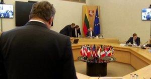 Vyriausybė (nuotr. stop kadras)