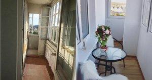 Alytiškių balkono pokyčiai (nuotr. asm. archyvo)
