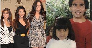 Robert Kardashian su vaikais (tv3.lt fotomontažas)
