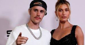 Justinas Bieberis ir jo žmona Hailey Baldwin (nuotr. SCANPIX)