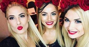 Merginų grupė YVA (nuotr. Instagram)