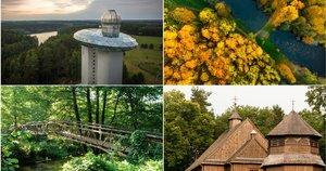 Idėjos, ką pamatyti Lietuvoje savaitgalį