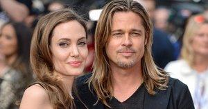 Angelina Jolie ir Brad Pitt (nuotr. SCANPIX)
