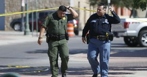 Policija Teksase (nuotr. SCANPIX)