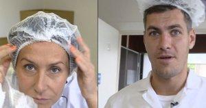 Starošaitė įkvėpė Jankevičių išbandyti naują profesiją: rezultatas prajuokino iki ašarų (nuotr. stop kadras)