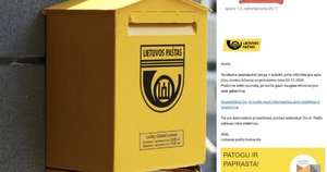 Sukčiai bando išvilioti pinigus prisidengę Lietuvos paštu  (nuotr. tv3.lt)