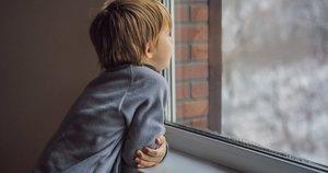 Vienišas vaikas  (nuotr. Shutterstock.com)