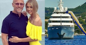 Johnas Caudwellas aprodė savo jachtą  (nuotr. Instagram)