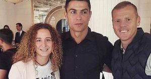 Greta palydėjo Cristiano Ronaldo iki oro uosto  (nuotr. asm. archyvo)