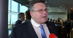 Užsienio reikalų ministras Linas Linkevičius filmo premjeroje (nuotr. stop kadras)