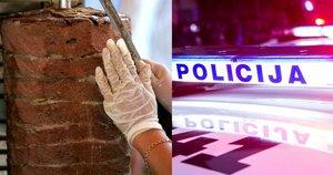 Kelmėje nuteistas į kebabinę automobiliu tyčia šešis kartus įvažiavęs vyras (tv3.lt koliažas)