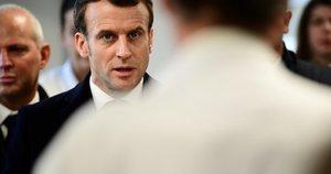 Prancūzijos prezidentas Emmanuelis Macronas (nuotr. SCANPIX)