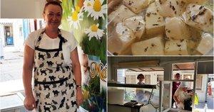 Sūrių gamintoja kelią į tauragiškių širdis atradusi ne tik per skrandį