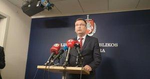 Generalinės prokuratūros Baudžiamojo persekiojimo departamento vyriausiasis prokuroras Tomas Krušna (nuotr. Fotodiena/Justino Auškelio)