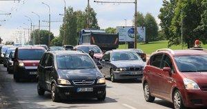 Automobiliai (nuotr. Broniaus Jablonsko)