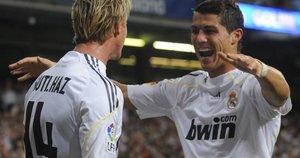 Guti ir Cristiano Ronaldo (nuotr. SCANPIX)