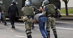 Baltarusijoje tęsiasi protestai (nuotr. SCANPIX)