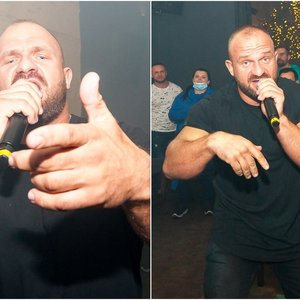 Koronavirusas neišgąsdino: Ironvytas gerbėjams surengė dainos pristatymo vakarėlį