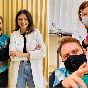 Aktorius Vaitiekūnas išbandė plaukų atauginimo procedūrą: atsistodavau taip, kad nesimatytų plinkančio pakaušio