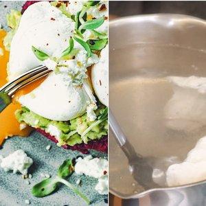 Parodė, kaip išvirti tobulą kiaušinį be lukšto: viskas paprasčiau nei galvojote