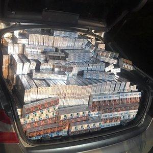 Netoli Kalvarijos vyko kontrabandininkų gaudynės: rasta turto už 80 tūkstančių eurų