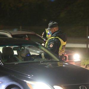 Priešrinkiminę naktį Vilniuje sučiupti septyni girti vairuotojai, du jų – areštinėje