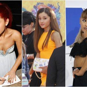 Neįtikėtini Arianos Grande pokyčiai: savo firminę plaukų uodegėlę ėmė rištis ne dėl grožio