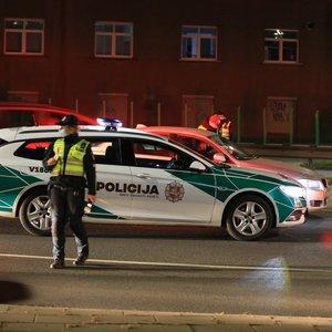 Prieš gresiantį karantiną Vilniuje per vieną naktį įkliuvo šeši girti vairuotojai