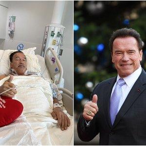 Schwarzeneggeriui atlikta antroji širdies operacija: atskleidė, kaip jaučiasi dabar