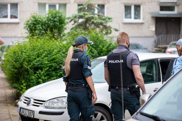 Klaipėdos policijos pareigūnai (nuotr. Policijos)