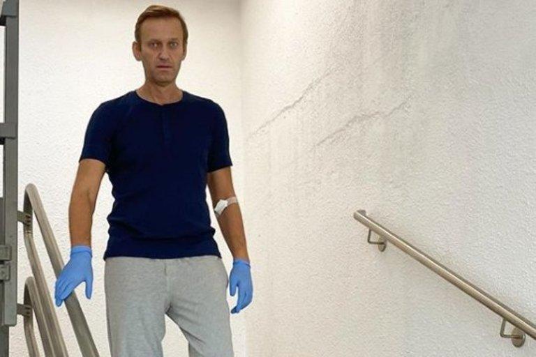 A. Navalnas (nuotr. Instagram)