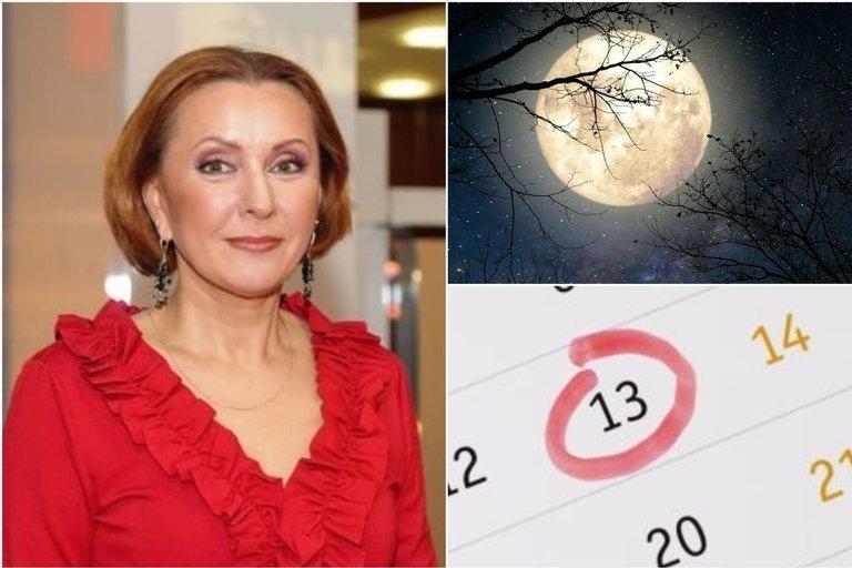 Astrologė V. Budraitytė apie penktadienį tryliktąją (tv3.lt fotomontažas)