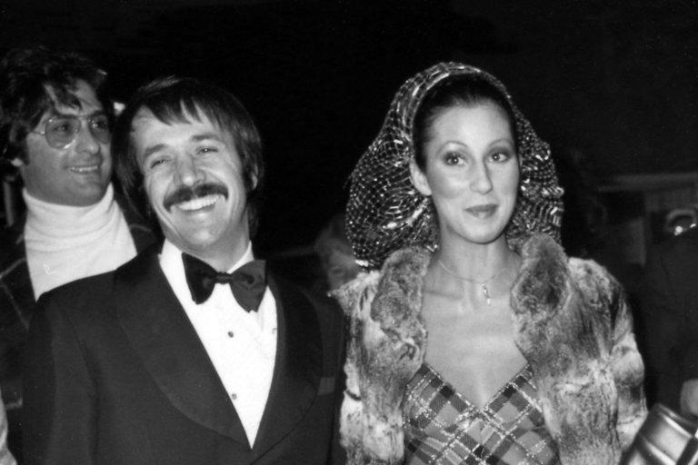 Cher ir Sonny Bono (nuotr. SCANPIX)