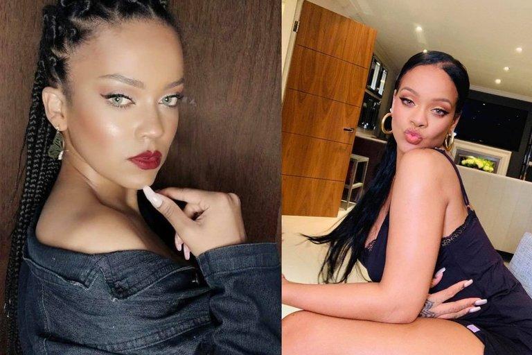 Priscila Beatrice ir Rihanna (tv3.lt fotomontažas)