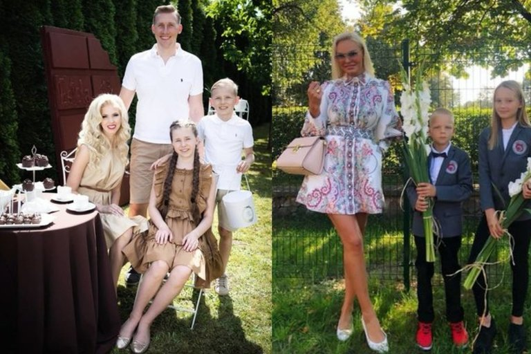 Ingos Stumbrienės ir Vitos Pliadytės šeimos (tv3.lt fotomontažas)