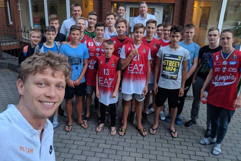 Mindaugo Kuzminsko vardo krepšinio stovykla (nuotr. Organizatorių)