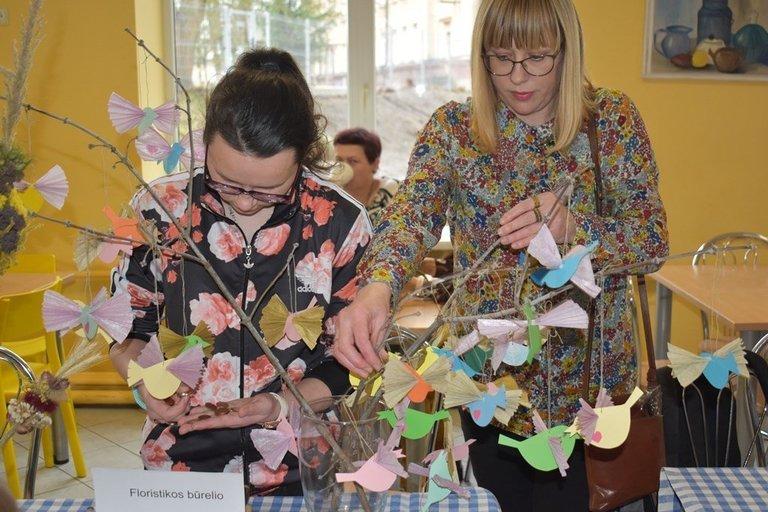 Mokymasis – per įdomias veiklas. Šiaulių sanatorinės mokyklos archyvo nuotr.