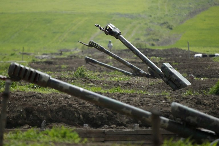 Konfliktas Kalnų Karabache (nuotr. SCANPIX)