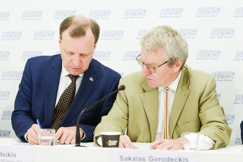 Centro partija jungiasi su tautininkais, sąrašo lyderis rinkimuose – Puteikis (nuotr. Justinas Auškelis/Fotodiena)