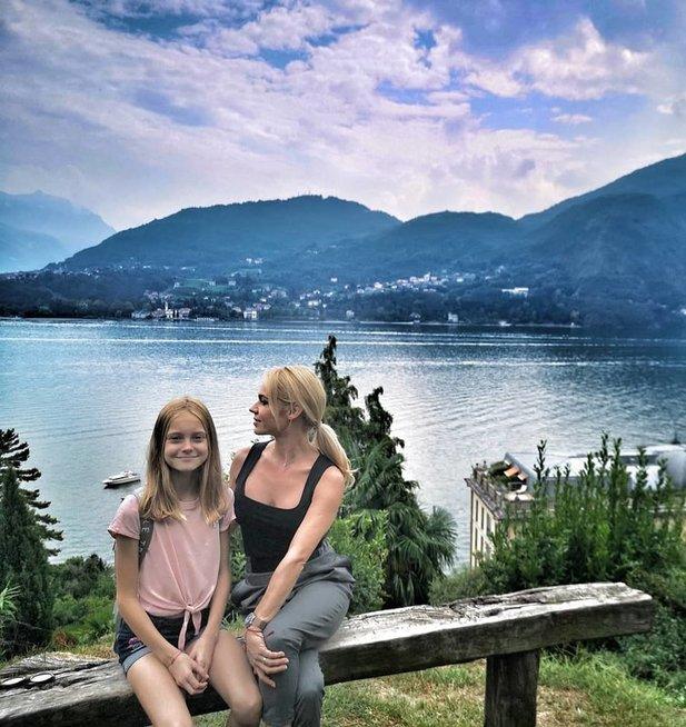 Ingrida Martinkėnaitė atostogavo Italijoje