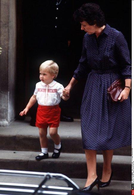 Barbara Barnes su princu Williamu