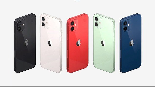 iPhone 12 (nuotr. DailyMail)